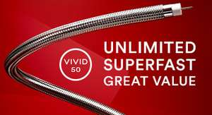 Virginmedia free upgrade from 50 Mbps to 100 Mbps