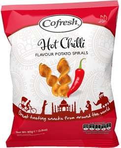 Cofresh Chilli & Lemon Potato Grills (80g) was 68p now 2 for £1.00 @ Morrisons