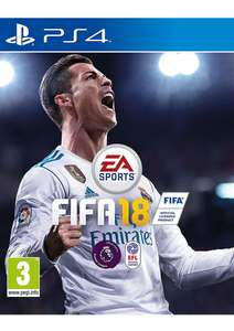 FIFA 18 - Standard Edition on PlayStation 4 £39.99 @ Simply Games