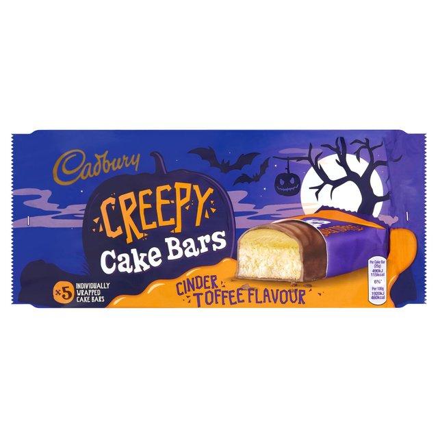 Cadbury Cinder Toffee Creepy Cake Bars (125g was £1.00 now 50p @ Morrisons