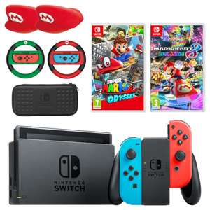 Nintendo Switch Mario Mega Bundle - £379.99 @ Nintendo Store