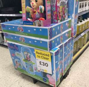 Peppa Pig electronic kitchen exclusive to Tesco Reduced to Clear £30 in store Silverburn