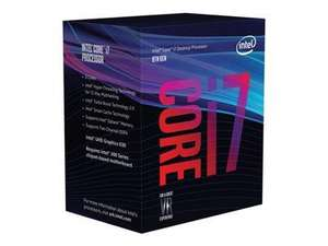 Intel Core i7-8700 8th Gen S1151 3.20GHz 12MB Cache Coffee Lake at BT Shop, £213.48 with delivery