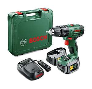 Bosch 06039A3371 PSB 1800 LI-2 Cordless Combi Drill with Two 18 V Lithium-Ion Batteries - Green  £66.72 @ Amazon