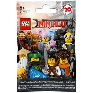 The Lego Ninjago Movie Collectable Minifigures 2 for £4.00 at Sainsburys