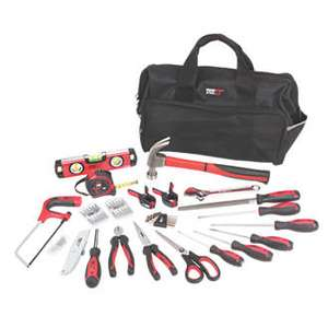 Forge Steel 55 Piece Tool Kit with Bag £29.99 in-store at Screwfix