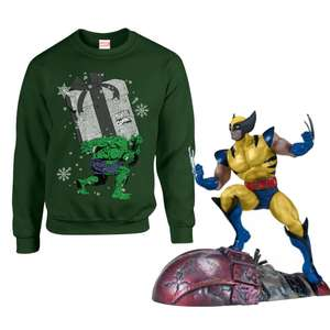 Wolverine SNAP Build Kit + Marvel Christmas Jumper £24.99 delivered @ Zavvi