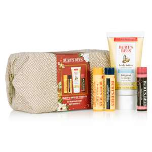 1/3 off Burts bees Gifts + extra 15% off @ FABLED with code i.e. Burt's Bees Bag of Treats Gift Set £9.63 (Free Next day delivery when you spend £15 or £3.90)
