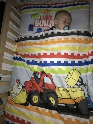 Kids bedding (cot bed and single) only £2 in Argos clearance (found instore Stanley store)