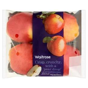 Waitrose Jazz apples pack of 4 £1.10 - half the usual price !!!