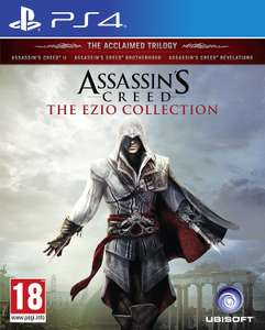 Assassin's Creed Ezio collection £14.99 (prime) £15.98 non Prime PS4/Xbox @ Amazon