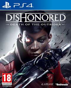 Dishonored death of the outsider £9.99 (Prime) £11.98 none Prime PS4 @ Amazon
