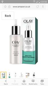 Olay Regenerist Luminous Anti-Ageing Skin Tone Perfecting Serum, 40 ml £14.39 Prime / £18.38 Non Prime (s&s  £13.67) @ Amazon