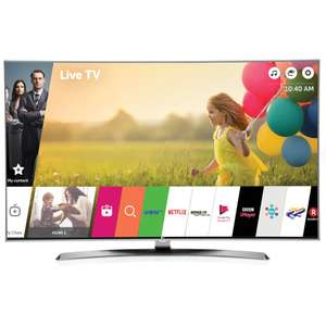 LG 49UJ750V TV £549 @ John Lewis via Pricematch