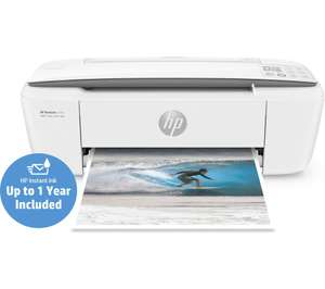HP DeskJet 3720 All-in-One Wireless Inkjet Printer With 15 months HP Instant Ink Included (Based On A 50 Page Per Month Plan) - £44.99 @ Currys (C&C Only) *Please no instant ink referral requests/offers*