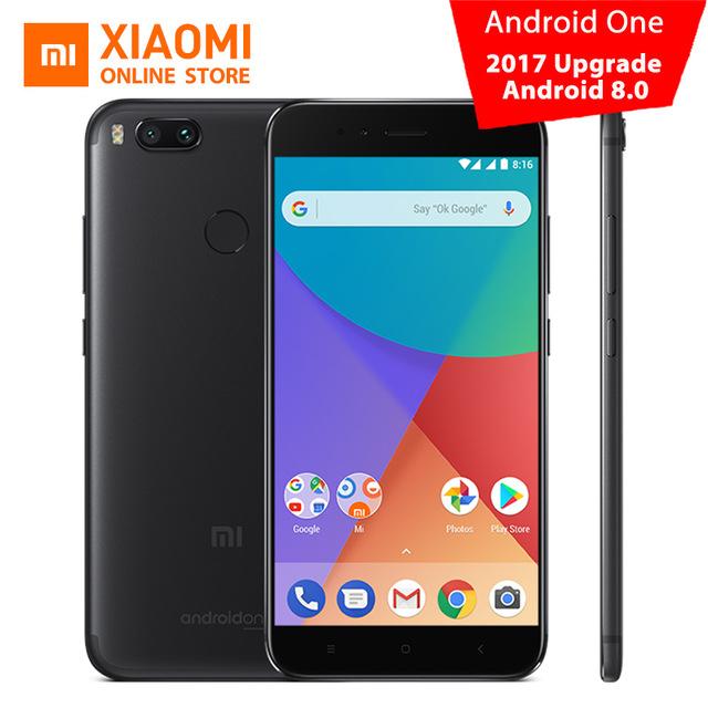 Global Version Xiaomi Mi A1 MiA1 Mobile Phone 4GB 64GB Snapdragon 625 Octa Core 12.0MP+12.0MP Dual Camera Android One CE FCC £150.58 @ Ali Express