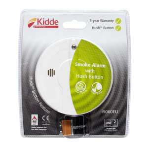 Kidde i9060 Smoke Alarm £6 instore @ Asda (down from £8)