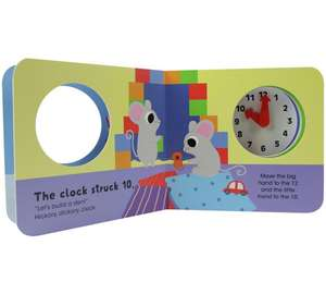 Chad Valley Hickory Dickory Clock book @Argos -£1.29