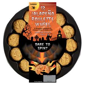 12 Jalapeno Roulette Wheel (3 with Carolina reaper) Half Price £1.50 @Iceland