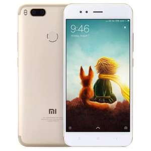 XIAOMI Mi A1 gold 4GB RAM 64GB storage £145.18 using code xiaomiA111 at GearBest
