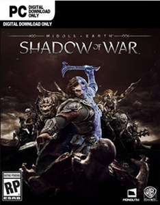Middle-earth Shadow of War. PC £22.99 (CD keys)