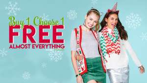 BOGOF at Claire's also 20% off with newsletter sign up