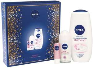 Nivea Pearly Skin Gift Pack (Add On item) @ Amazon  £3.50