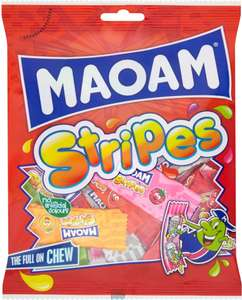 Haribo Scaremix (140g) / Haribo Tangfastricks (140g) / Maoam Stripes (140g) (Clearance Deals) was £1.29 now 64p @ Ocado