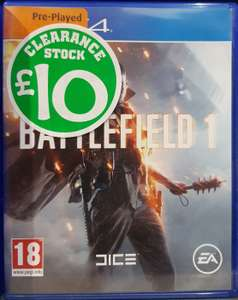 (Used) Battlefield 1 £10, Little Big Planet 3 £5, Watch Dogs 2 PS4 £10 / Prey Xbox One £10 @ Smyths