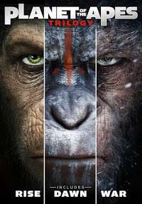 Planet Of The Apes Trilogy HD £15.99 on Google Play
