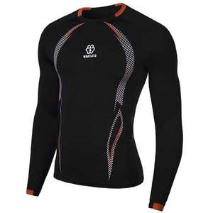 Long sleeved quick dry sports top - 4 colours to choose from - Medium Through 2XL £1.53 each @ Sammydress (Size guide in OP)