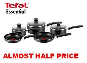 ALMOST 1/2 PRICE! Tefal Essential Cookware Set *4.5 STARS* 1,000+ REVIEWS £51.19 @ Amazon