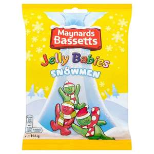Maynards Bassetts Snowmen Jelly Babies (165g) was £1.00 now 75p @ Ocado