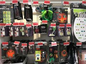 Lots of Sainsbury Halloween Makeup and other bits all 90% off  (ideal for fancy dress) instore - Crayford