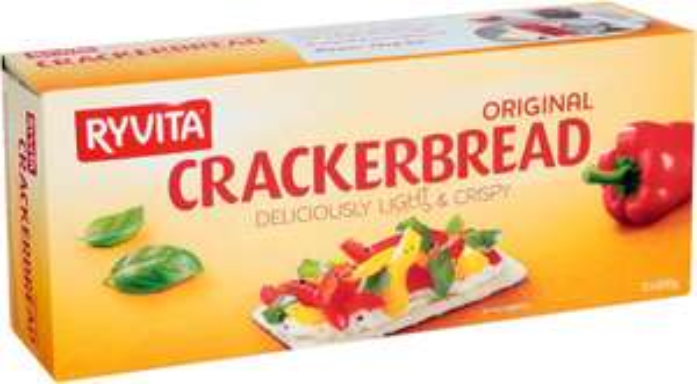 Ryvita Original Wheat Crackerbread (200g) / Ryvita Wholegrain crackerbread (125g) was £1.09 now 87p @ Waitrose