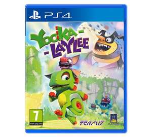 Yooke-Laylee PS4 and Xbox one from argos - £12.99 (C&C)