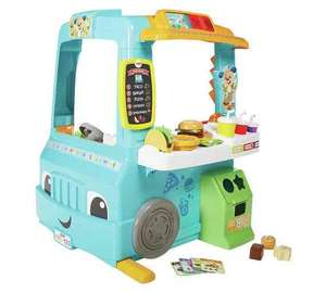 Fisher Price servin' up fun food truck down to £50.99 & Argos with offer stack FLASH20 FISHER25