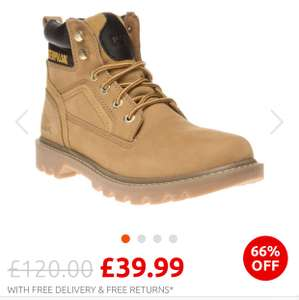 Caterpillar  Boots - from £39.99 @ Soletrader Outlet
