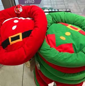 Xmas dog beds  £7 at The Works instore & Online