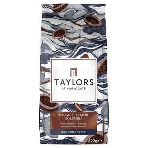 Taylors of Harrogate Cacao Columbia Beans 227g - £3.50 @ Morrisons - Instore Only (found Hyde)