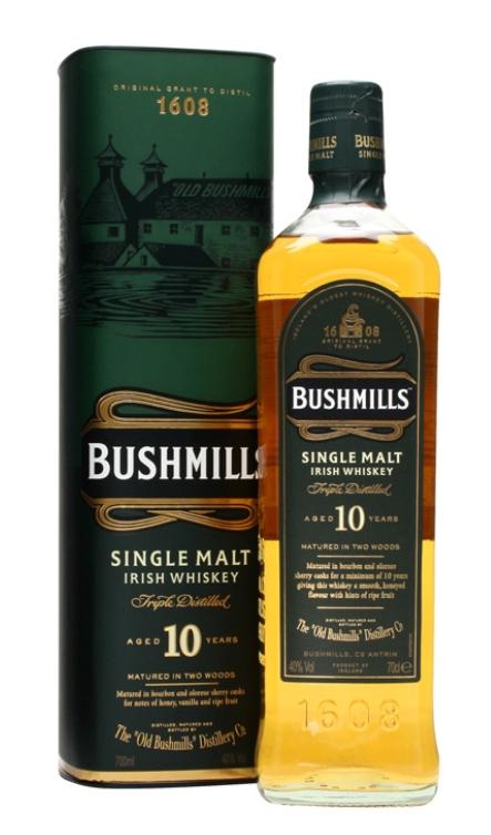 Bush mills Malt / 10 Single Irish Whiskey £16.75 @ Co-op instore