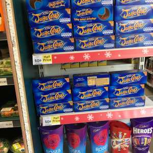 Jaffa cakes 50p from Tesco's nationally!