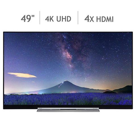 "49"" Toshiba 4K ready TV £449.89 Costco online"