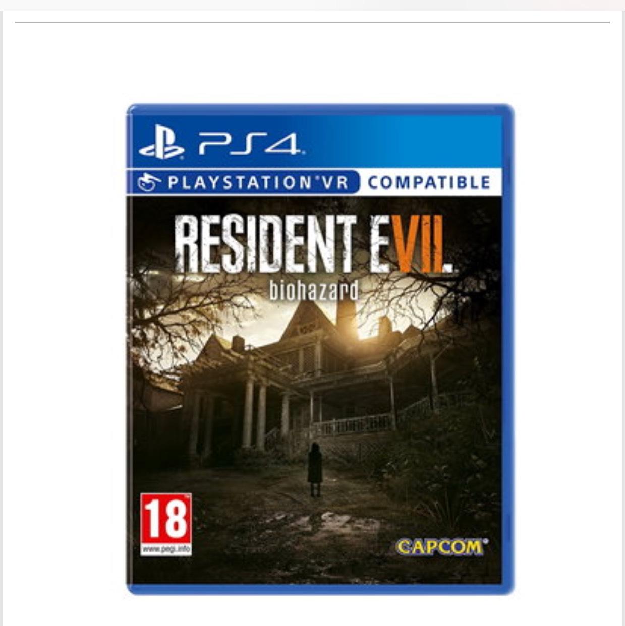 PS4 (+ XBOX) Resident Evil 7 (Biohazard) BASE.COM £15.85