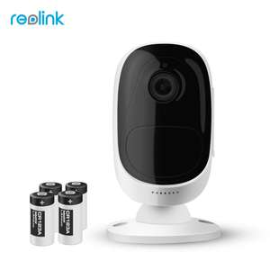 Reolink Argus Wire-Free Battery IP Camera 1080P  £56.85 @ aliexpress Store: Reolink Official Store+Free Shipping