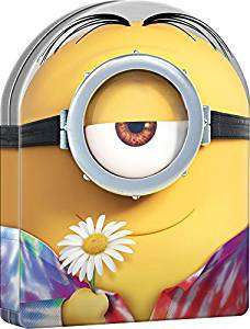 Minions - Limited Edition Collectors' Case [DVD] £3.39 delivered or Minions (3D with 2D Blu Ray & UV) Both formats inc. 3 Mini movies £4.49 delivered @ Base