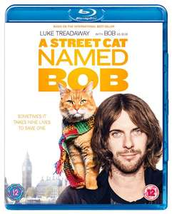 A Street Cat Named Bob (with Digital Download) [Blu-ray] only £4.80 delivered @ Zoom
