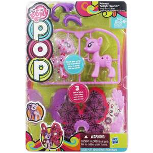 My Little Pony Princess Cadence or Spitfire Pop Pack (Design your own Princess Cadence or Spitfire) only £1.60 Free C&C @ The Works