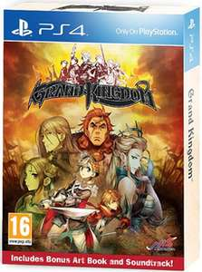 Grand Kingdom Launch Edition PS4 £20 @ Game