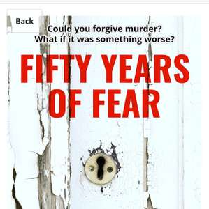New Ross Greenwood book fifty years of fear. Free - Amazon Kindle